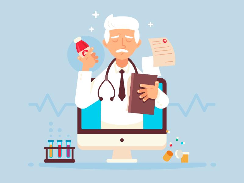 طراحی سایت پزشکی کاربردی در ۳ قدم همراه با نمونه سایت پزشکی